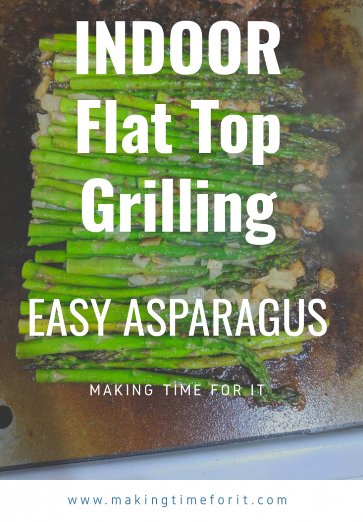 flat top grill asparagus