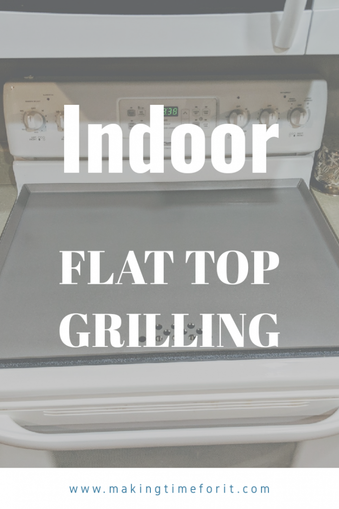 flat top griddle cooking