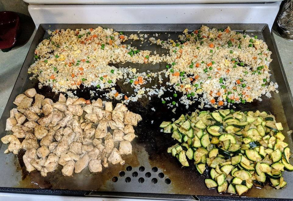Hibachi Chicken Recipe- Flat Top Grilling