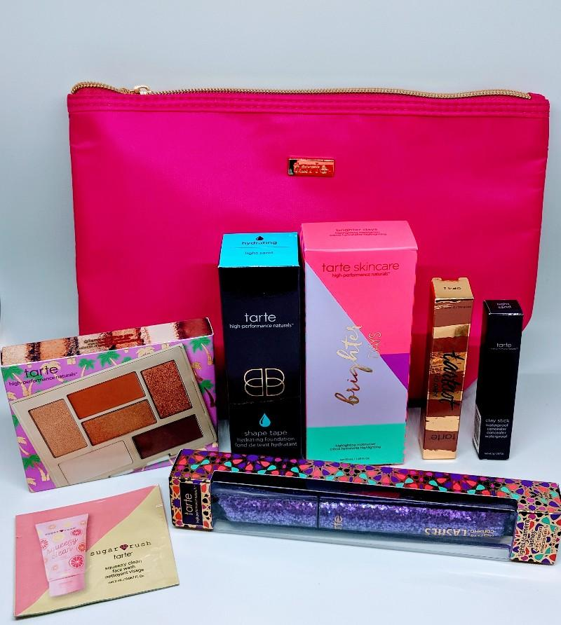 Tarte Custom Kit- The BEST Make Up Beauty Box!