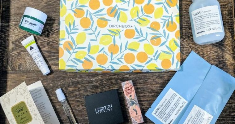 BIRCHBOX Beauty Subscription-  Is it Worth it?