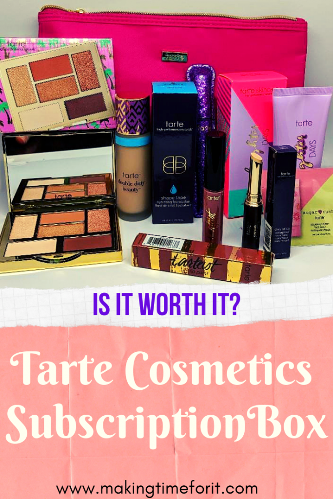 tarte custom kit review