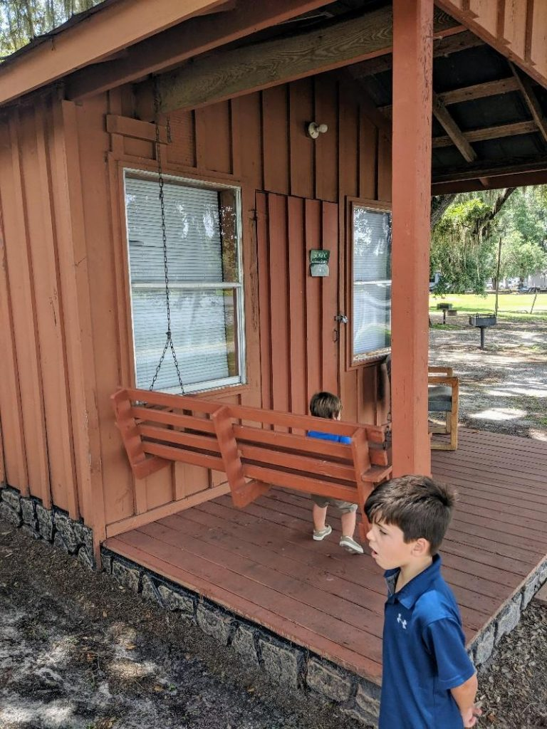 yogi bear campground cabin