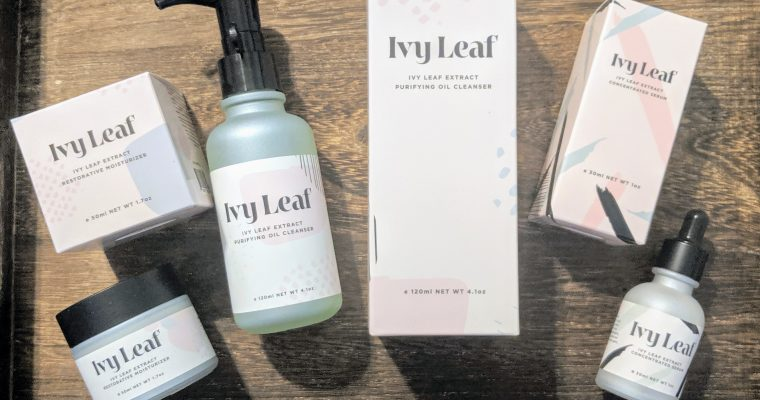Ivy Leaf Skincare Review- Amazing Results, Naturally.