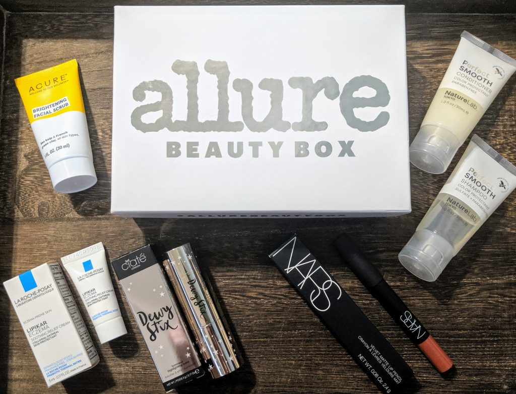 October 2019 allure Beauty box
