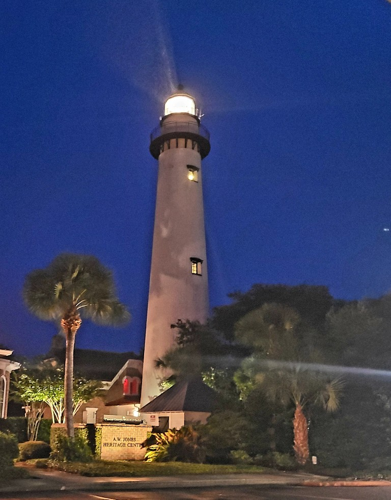 st simons island light house